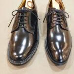 リーガルの丸い靴・細い靴。表記は同じだけど同じサイズがいいのかは別